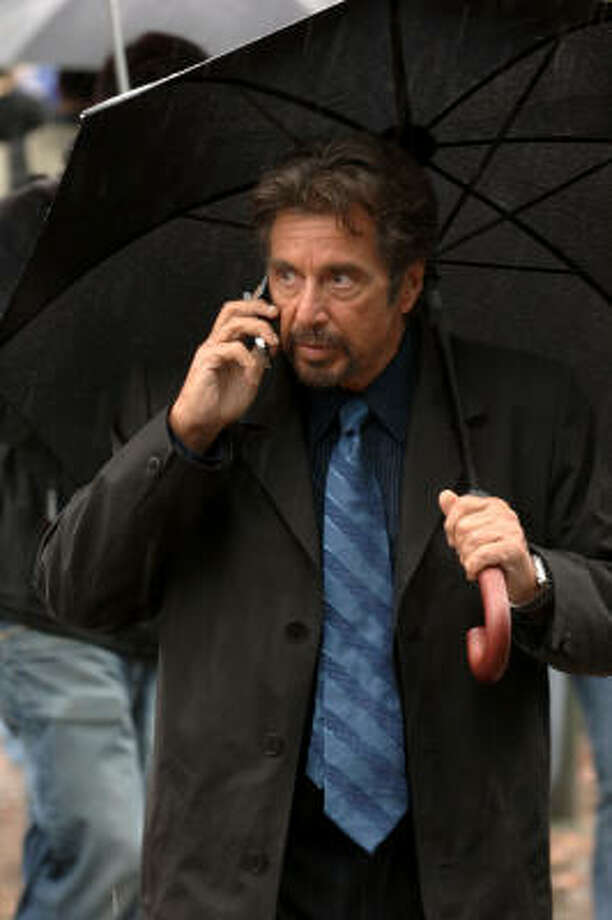 Al Pacino stars as a college professor receives a death threat that says he has only 88 minutes to live in 88 Minutes. Photo: TriStar Pictures