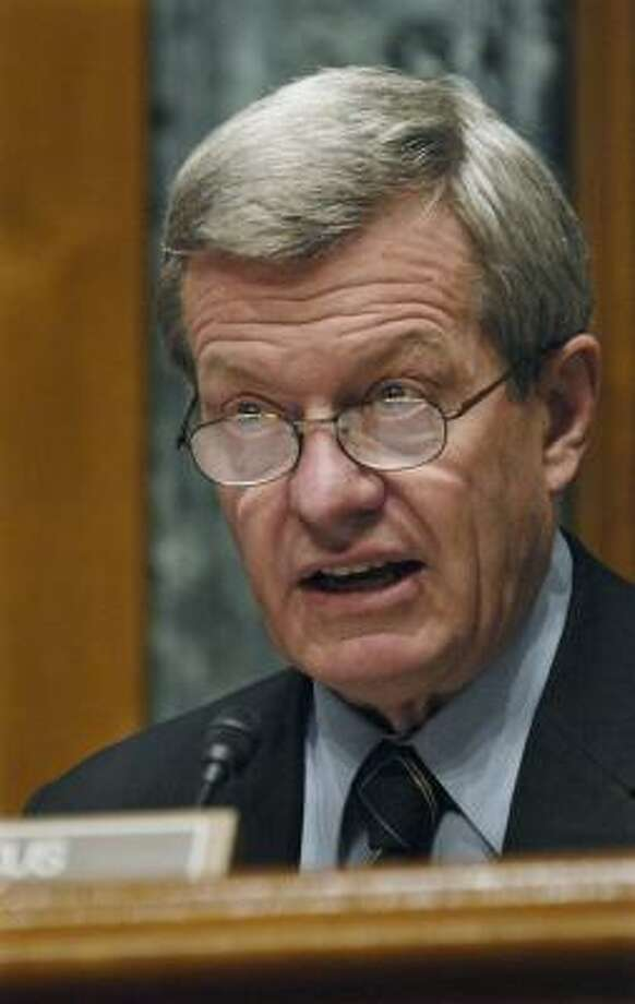 Max Baucus, U.S. Democratic senator from Montana. Photo: CAROL T. POWERS, BLOOMBERG NEWS