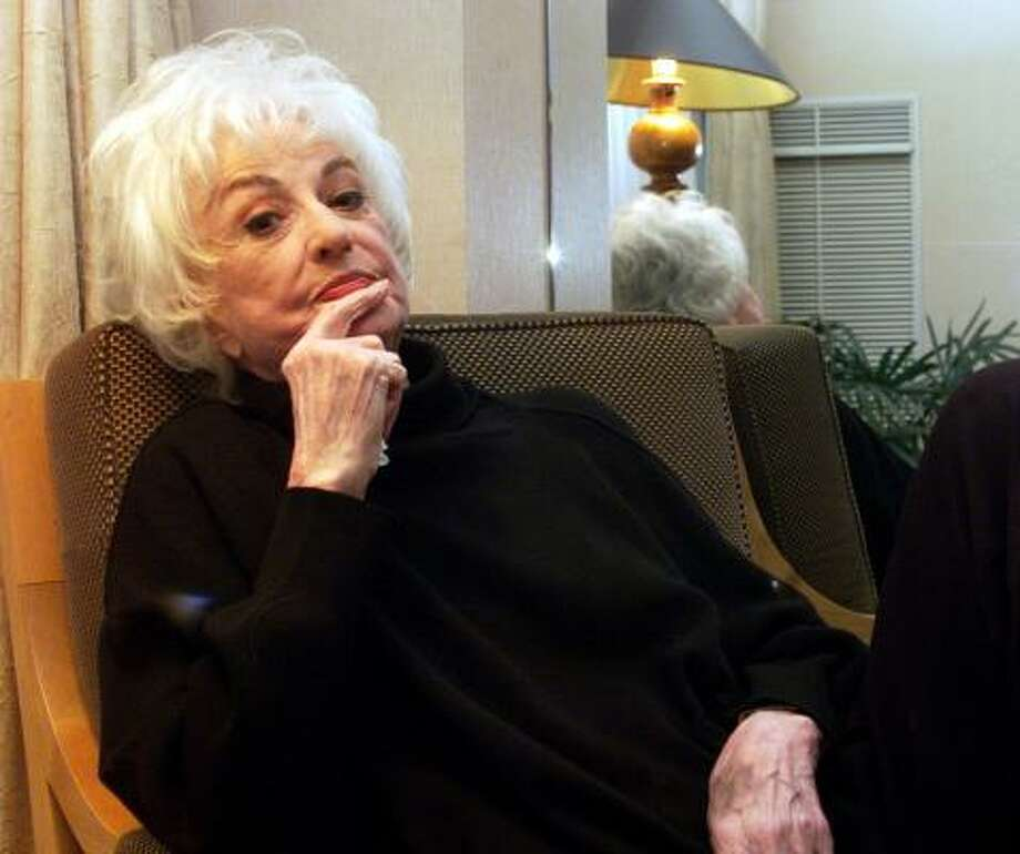 Bea Arthur, star of Maude and Golden Girls, will be inducted into the TV Academy Hall of Fame. Photo: KEITH TORRIE, KRT