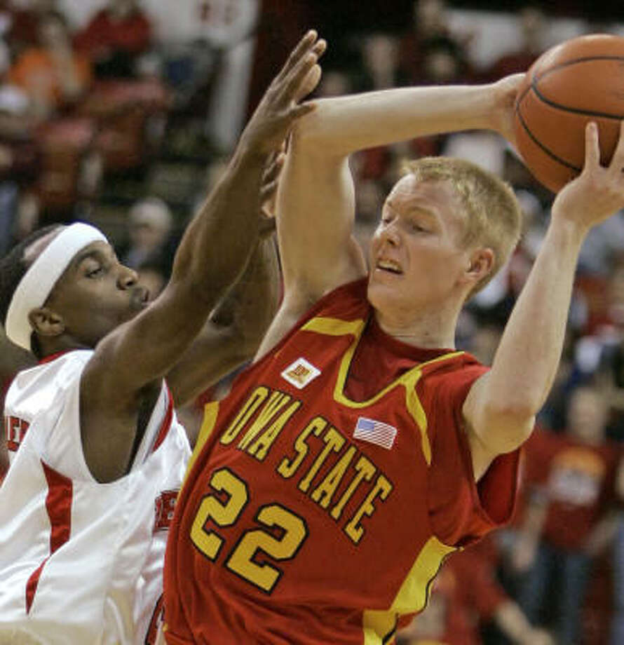 Bryan Petersen and the Cyclones are 3-4 in conference play with all their Big 12 losses coming on the road. Photo: Nati Harnik, AP
