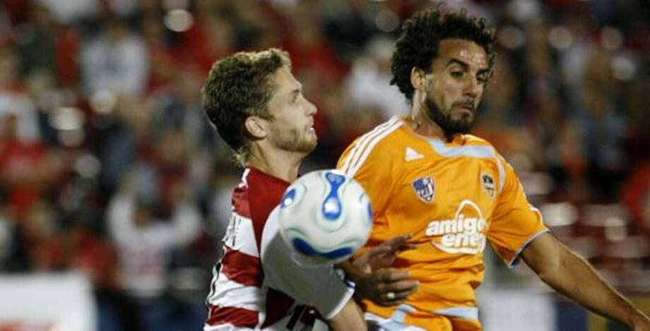 Besides the Champions' Cup, the Dynamo's home opener with FC Dallas will provide more soccer excitement. Photo: Amy Conn-Gutierrez, AP