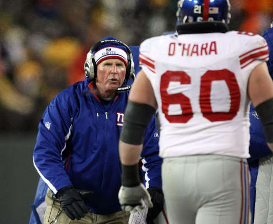 Green Bay couldn't chill Tom Coughlin's fire. Photo: Jed Jacobsohn, Getty Images