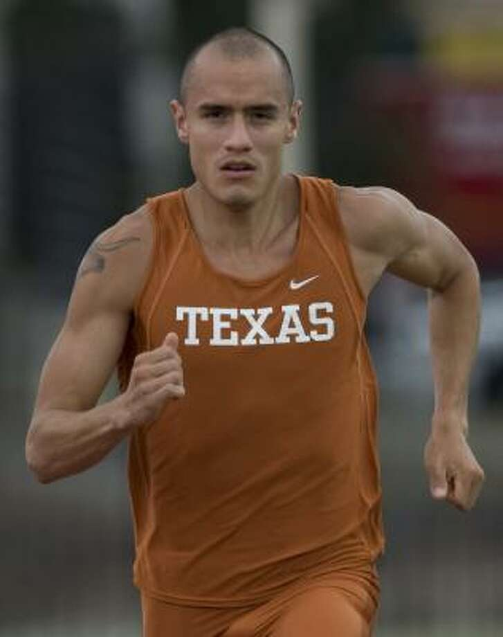 A former standout at Magnolia, Jacob Hernandez is now making waves in the 800 meters at the national level. Photo: Matt Hempel 1 UT Athletics, UNIVERSITY OF TEXAS
