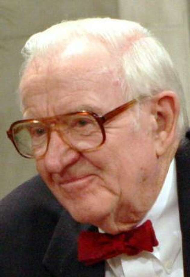 John Paul Stevens already has hired the law clerks who would begin work in October 2009. Photo: LAUREN VICTORIA BURKE, AP