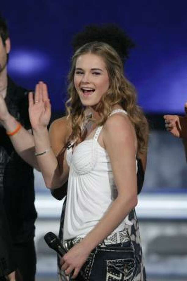 Kristy Lee Cook was eliminated Wednesday from the competition on American Idol. Photo: FRANK MICELOTTA, FOX