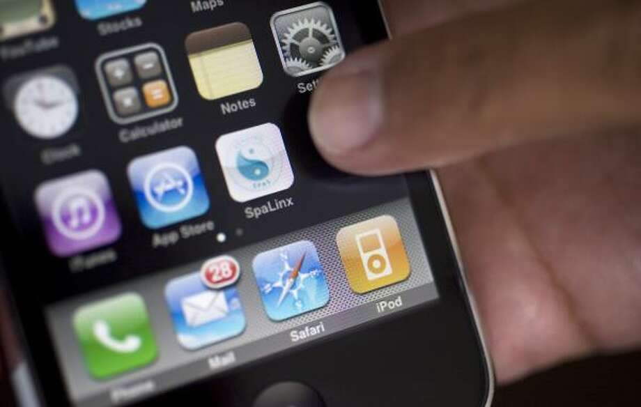 Jimenez leaped to create applications for the iPhone. Photo: Johnny Hanson, Chronicle