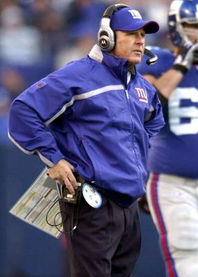 New York Giants coach Tom Coughlin will look to get his team to a conference championship game for the first time since 1999, when as coach of the Jacksonville Jaguars, he led his team to the AFC Championship Game. Photo: David L. Pokress, MCT