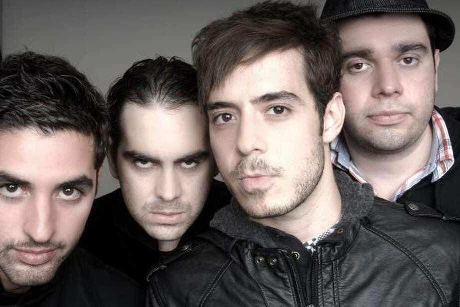 Panda, from left, is Ricardo Trevino, Arturo Arredondo, Jose Madero and Jorge Vazquez. Photo: Warner Music Latina