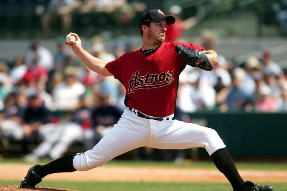 In a spring full of questions in the pitching staff, Roy Oswalt has provided a consistent answer. Photo: Joe Kaleita, AP