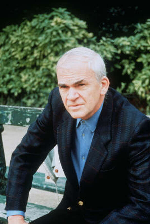 Czech writer Milan Kundera denounced claims that he once informed on a Western spy. Photo: AFP/Getty Images