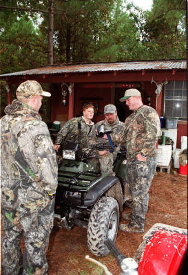 EXPENSIVE GEAR: Budgets for deer hunters are running high these days. Photo: Shannon Tompkins, Chronicle