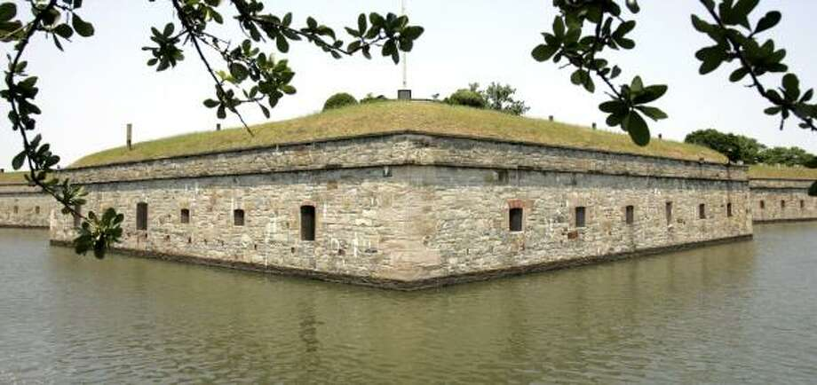 Historians want Fort Monroe, where fugitive slaves flocked during the Civil War, protected for the future. The 63-acre fortress in Hampton, Va., is the last active moated fort in the U.S. Photo: STEVE HELBER, ASSOCIATED PRESS