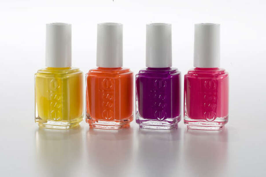 Essie's new limited edition Neon collection, $8 each. Photo: Buster Dean, Houston Chronicle