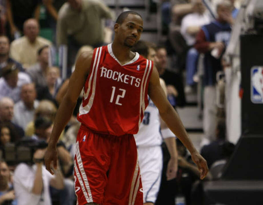 Houston Rockets guard Rafer Alston is due in court Thursday for an arraignment on a misdemeanor drunken driving charge. Photo: Nick De La Torre, Houston Chronicle