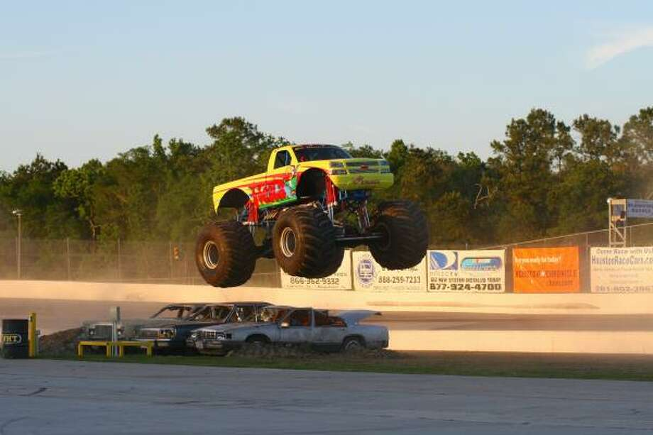 Fiesta King Krunch monster truck Photo: Steve Steinle, For The Chronicle