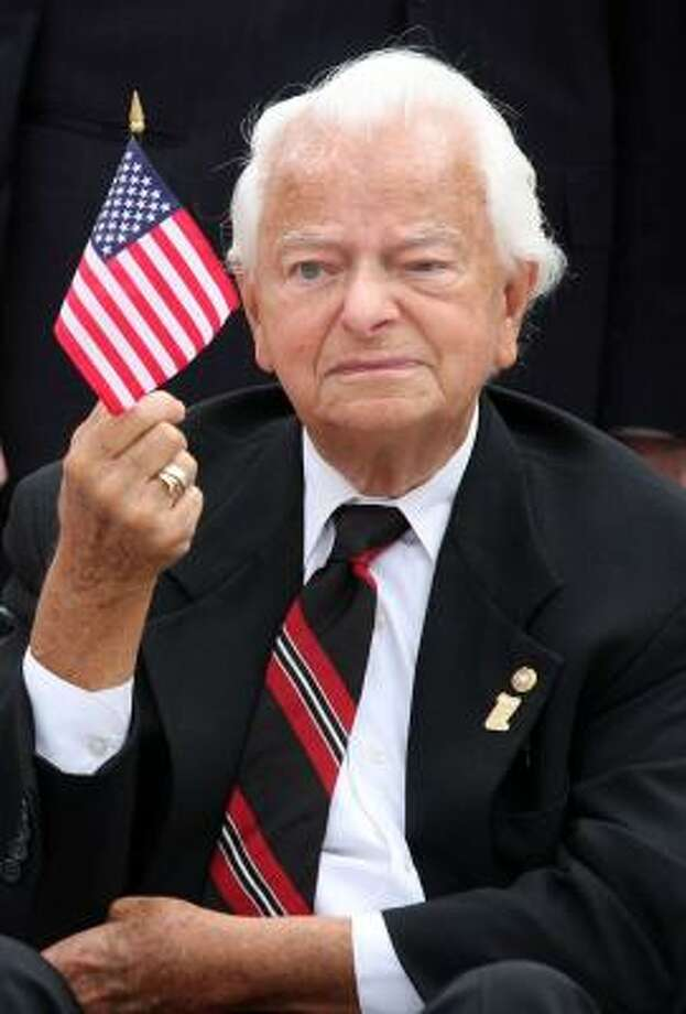 Democratic Sen. Robert Byrd of West Virginia is stepping aside as chairman of the Senate Appropriations Committee. Next in line for the job is Democratic Sen. Daniel Inouye of Hawaii. Photo: LAUREN VICTORIA BURKE, ASSOCIATED PRESS FILE