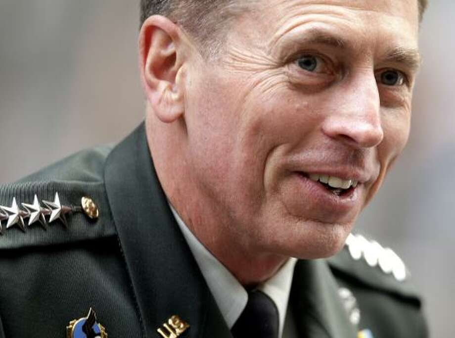 "Gen. David Petraeus, who becomes head of the U.S. Central Command on Oct. 31, suggests that the volatile situation in Afghanistan likely will make it ""the longest campaign of the long war"" to stabilize the region and destroy terrorists. Photo: SHAUN CURRY, AFP/GETTY IMAGES"