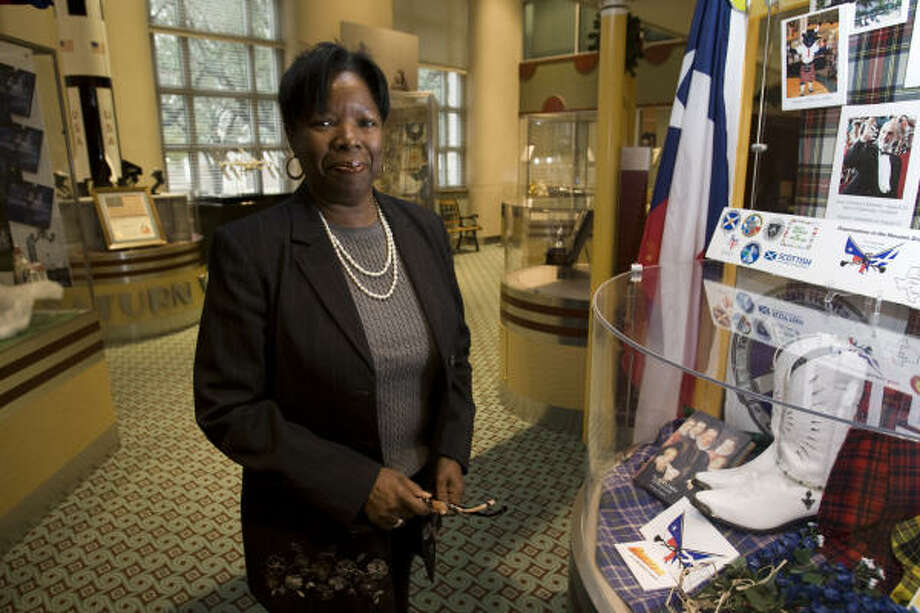 Judi Taliaferro, a director at the Greater Houston Convention and Visitors Bureau, signed up to receive supplemental hospitalization insurance through her workplace. Photo: Brett Coomer, Chronicle