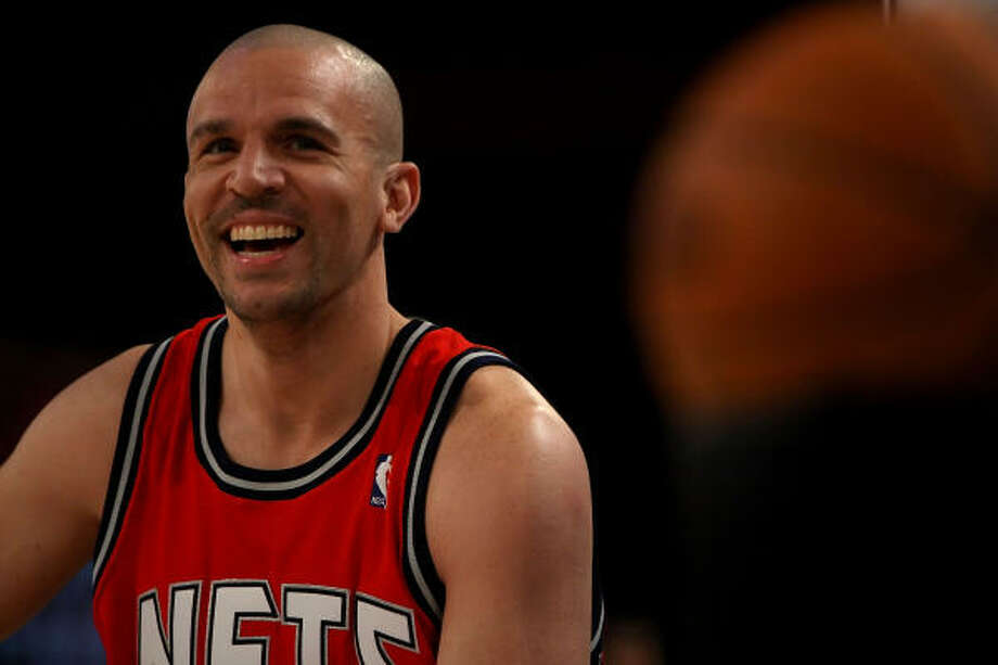 Jason Kidd led the Nets to the NBA Finals in his first two seasons with the team. Now he's faced with the challenge of doing the same with the Mavericks. Photo: Chris Graythen, Getty Images