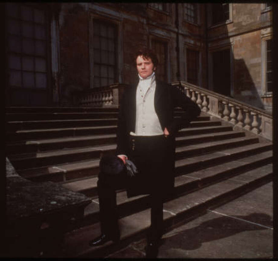 Colin Firth portrayed Fitzwilliam Darcy in the BBC miniseries Pride and Prejudice. PBS will have a three-month tribute to Jane Austen starting this Sunday that includes a re-airing of Pride. Photo: M. Birt, A&E