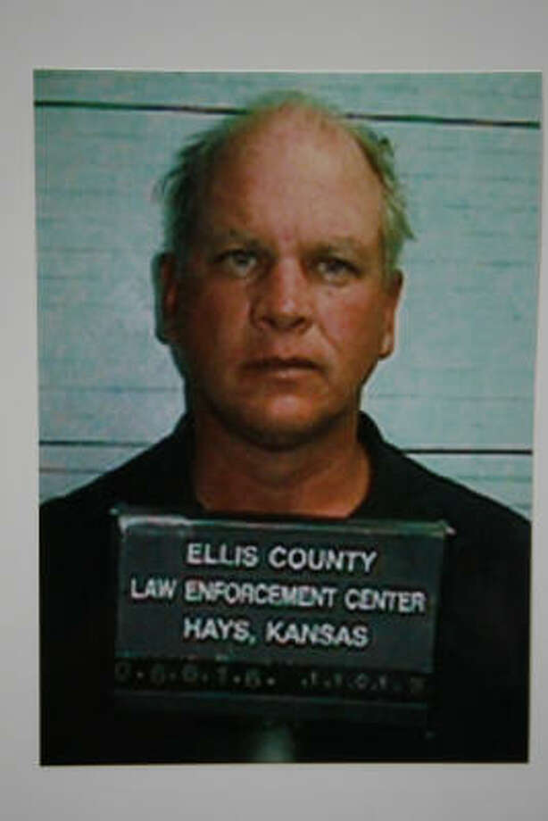 Steven Patrick See, shown after his arrest in Kansas, pleaded guilty Friday to murdering a Houston woman and her son in 1986. Photo: Ellis County Sheriff's Office, Kansas
