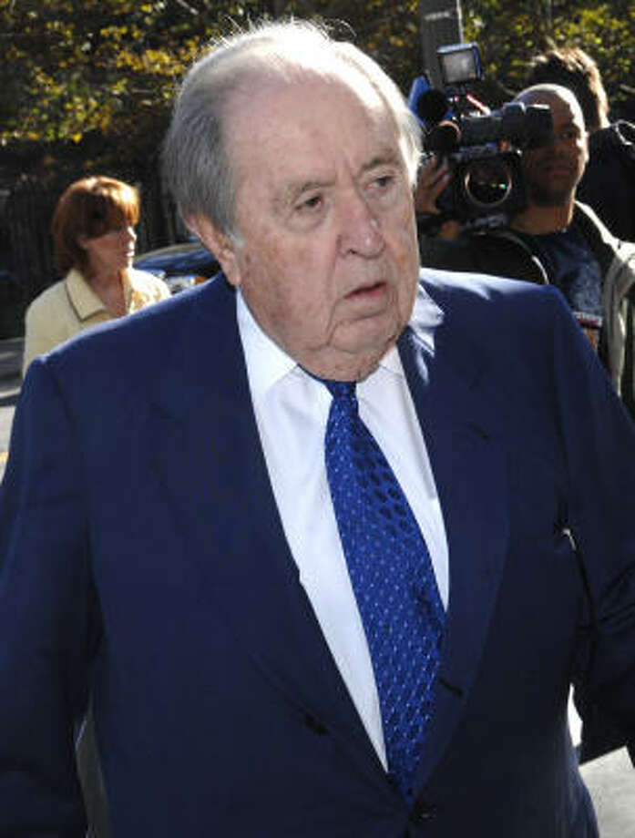 Oscar S. Wyatt Jr. , 83, founder and former chairman of Coastal Corp. Photo: LOUIS LANZANO, ASSOCIATED PRESS
