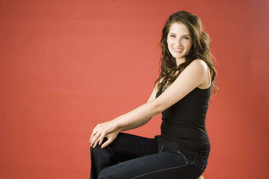 Country singer Katie Armiger released her second album, Believe, last week. Photo: Buster Dean, Houston Chronicle