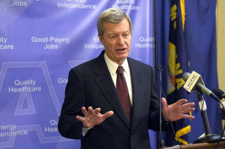 Montana Sen. Max Baucus Photo: GEORGE LANE, AP