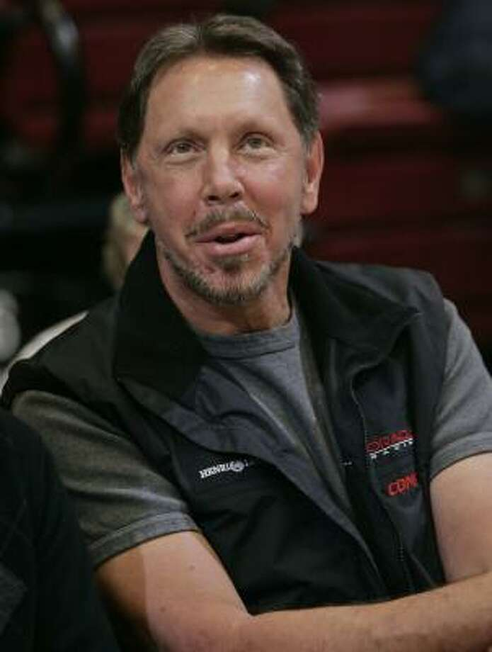 Oracle Corp.'s Larry Ellison is one of the highest paid CEOs and is worth an estimated $41 billion. Ellison also is a college dropout from the University of Chicago and the University of Illinois at Urbana.  Photo: Paul Sakuma, ASSOCIATED PRESS FILE