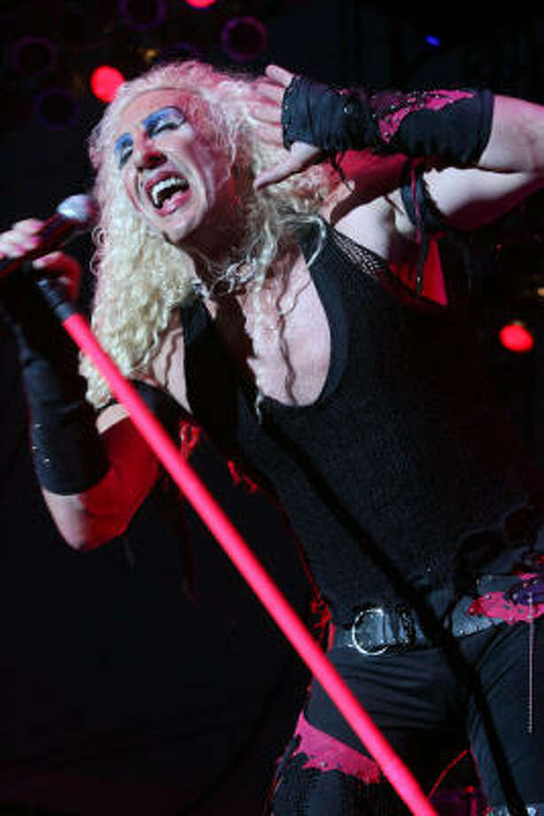 """We're not gonna play it anymoreDee Snider asked Paul Ryan's camp to stop playing his song, """"We're not  gonna take it."""" A statement from Snider reads, """"I emphatically denounce  Paul  Ryan's use of my band Twisted Sister's song 'We're Not Gonna Take  It' in  any capacity. There is almost nothing he stands for that I agree  with  except the use of the P90X."""" Ryan spokesman Brandon Buck said in  response: """"We're not gonna play it anymore."""" Photo: Bill Olive, For The Chronicle"""