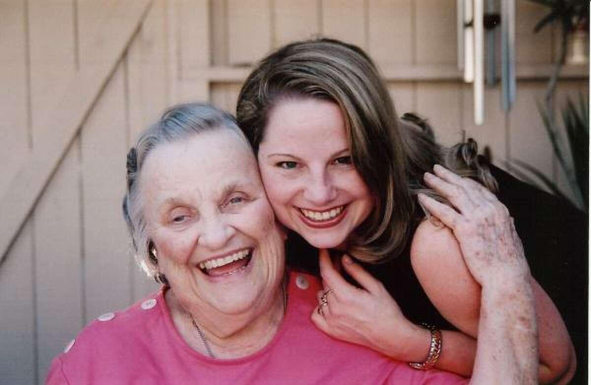 Mekisha Murray celebrates with her grandmother, Elizabeth Jane Schmidt, after she passed the bar exam.