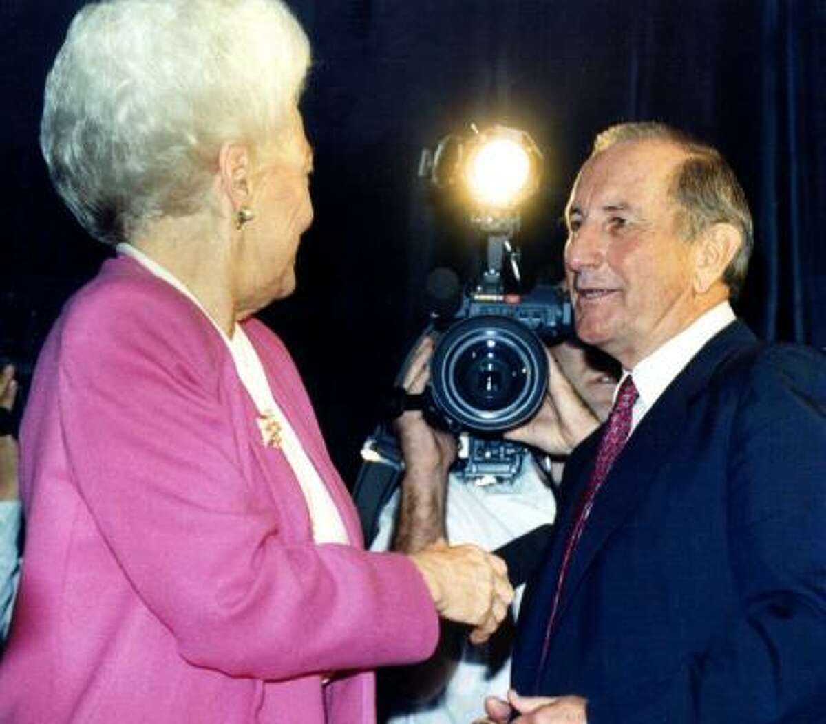 Clayton Williams on rape: At one point in the 1990 Texas gubernatorial race, Republican Clayton Williams(right) held a 20 point lead over Democrat Ann Richards (left) in the polls. But an infamous quote by Williams on rape helped turn the tide of the race, which Richards ended up winning.