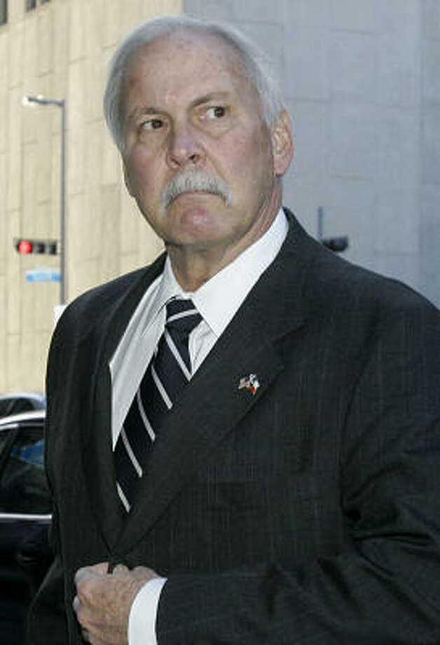Chuck Rosenthal stepped down after flirty e-mails to his executive secretary were made public. Photo: Pat Sullivan, AP