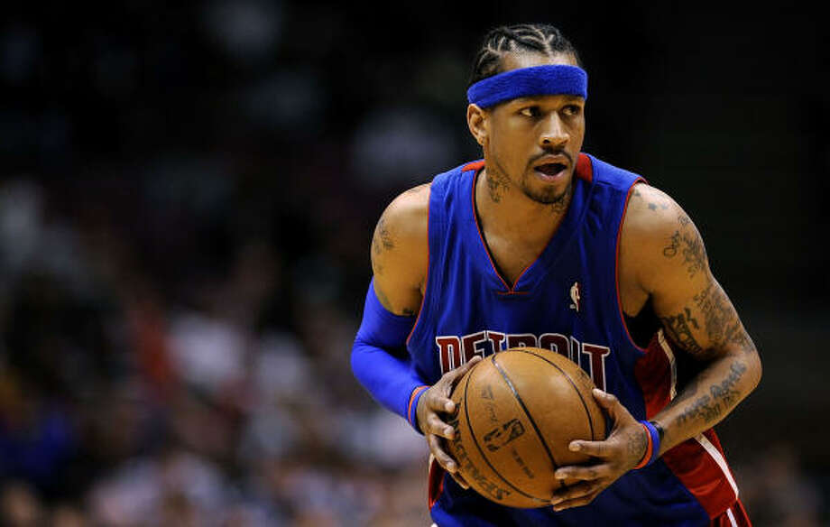 check out 64fbf 7abbd NBA notes: Pistons 6-6 after Iverson trade - Houston Chronicle