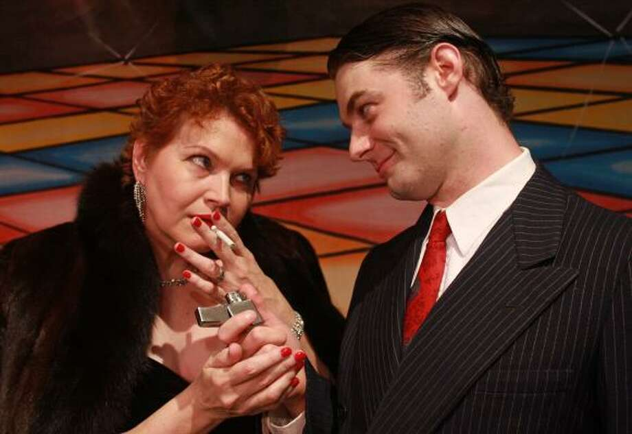 Susan Shofner and Spencer Plachy star in Bayou City Concert Musicals' production of Pal Joey. Photo: GARY FOUNTAIN, FOR THE CHRONICLE