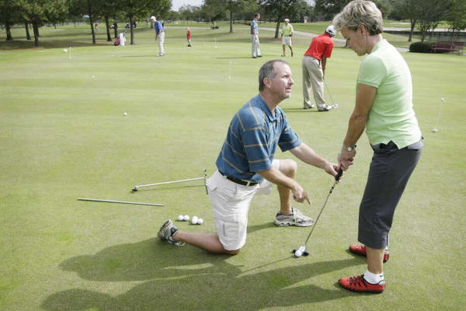 Instruction Club Fitting Key To Putting Improvement Houston Chronicle