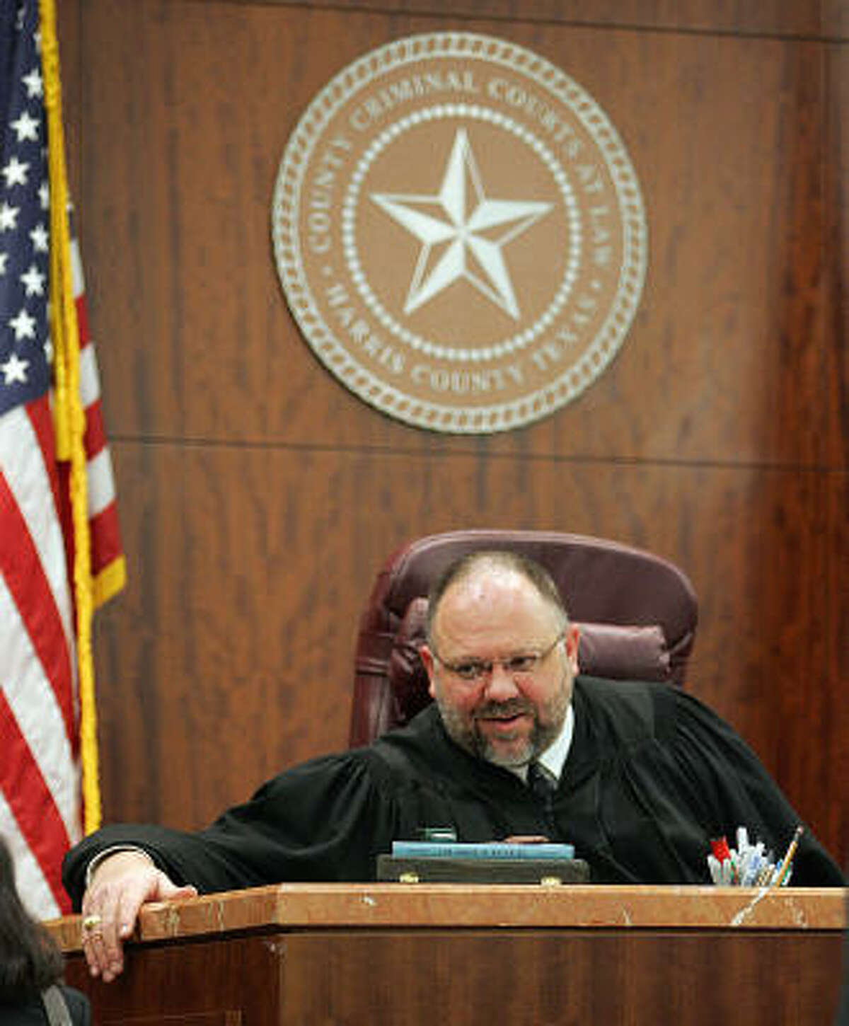 """Judge Larry Standley says """"if there were any complaints filed, they were investigated and they were dismissed."""""""