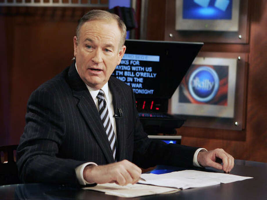 Fox News commentator Bill O'Reilly is part of Fox News'  prime-time lineup. Photo: Jeff Christensen, AP