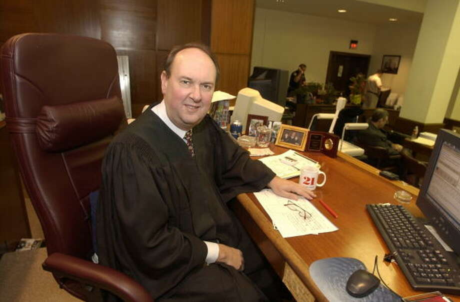 Judge Mark Davidson is among the Harris County civil court jurists who lost their re-election bids on Tuesday. Photo: Houston Chronicle