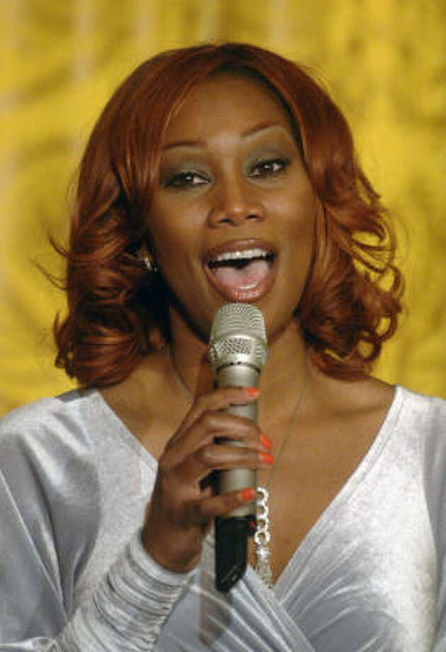 Yolanda Adams, 46, did not show up for a meeting at the Houston IRS office last month, the agency said. Photo: Kevin Dietsch, Getty Images