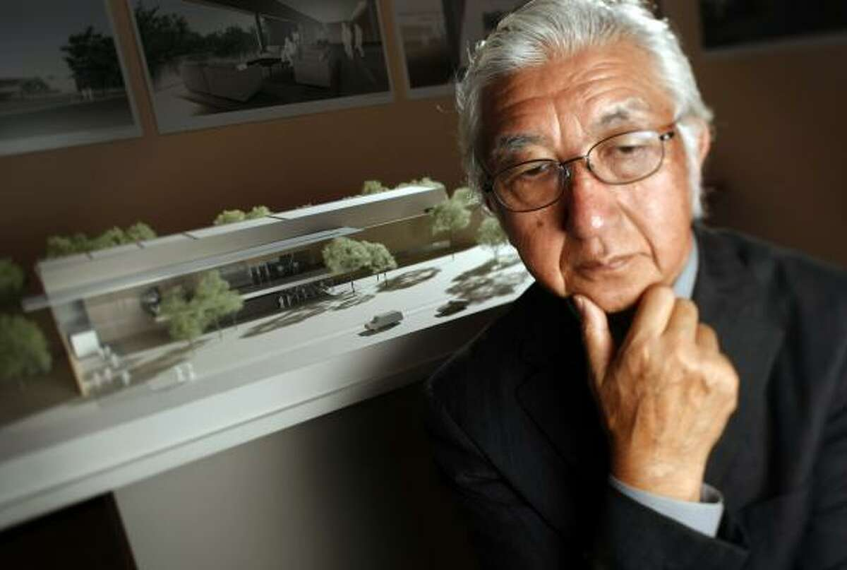 Yoshio Taniguchi has done only one other project in the United States- the expansion of New York's Museum of Modern Art.