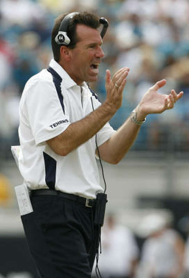 Gary Kubiak has had a better start to a head coaching career than some of the game's most recogonizable coaching names. Photo: Karen Warren, Houston Chronicle