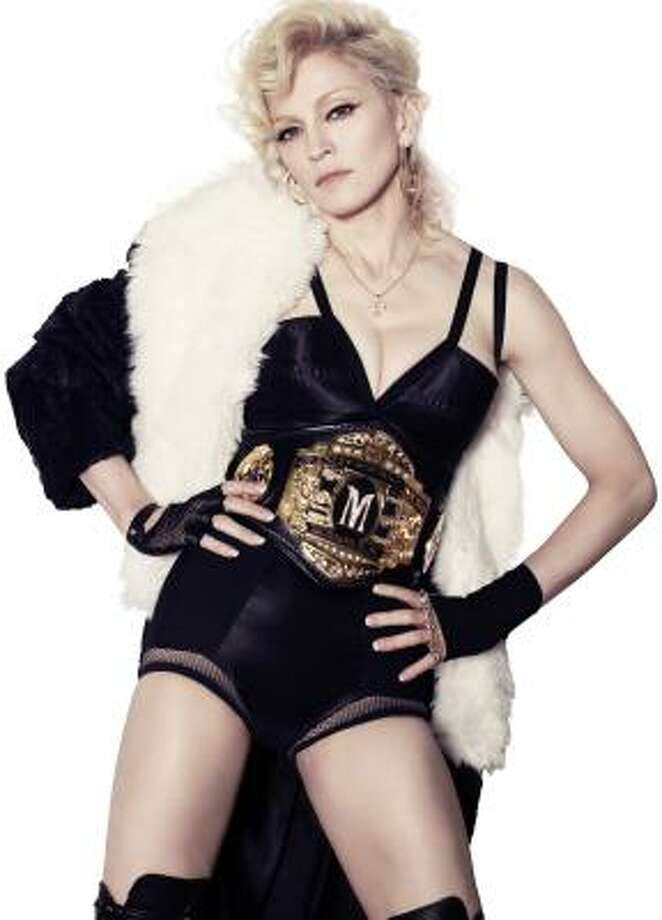 Madonna's latest is sure to get nonstop play at dance clubs. Photo: STEVEN KLEIN, Photo By Steven Klein