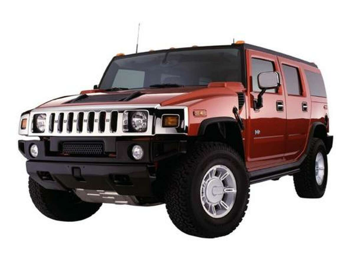 The Hummer H2 gets about 10 mpg.