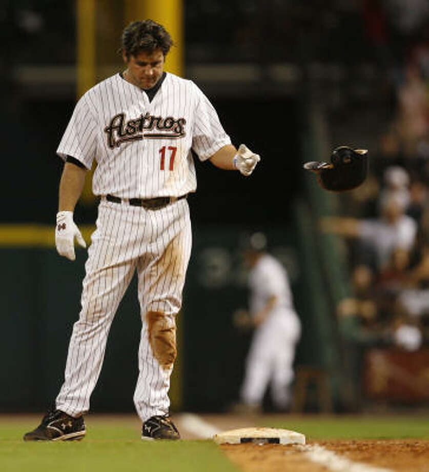 Lance Berkman sums up the Astros' season to date as 'fairly mediocre.' Photo: Karen Warren, Chronicle