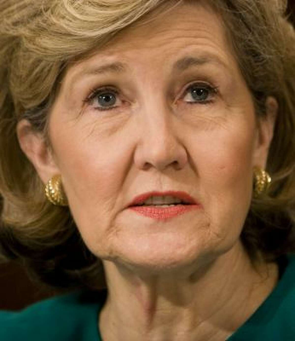 """Sen. Kay Bailey Hutchison cleared her plate Thursday for """"new opportunities."""""""