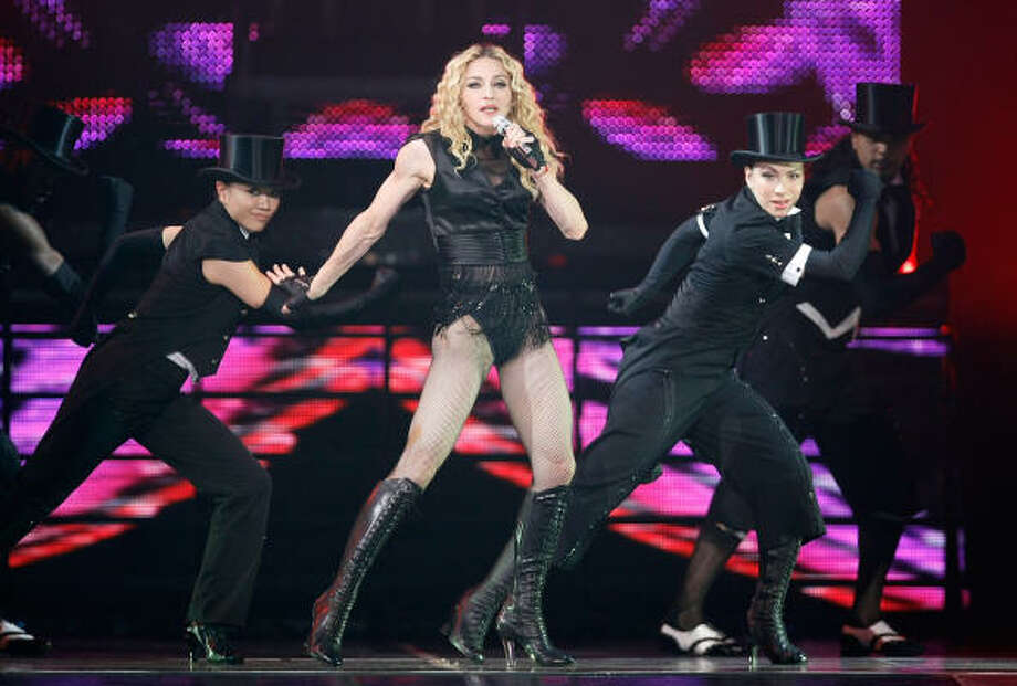 "Madonna ""remains a powerful music figure,"" says fan Melissa Martinez. ""Her stuff just isn't boring."" Photo: Ethan Miller, Getty Images"