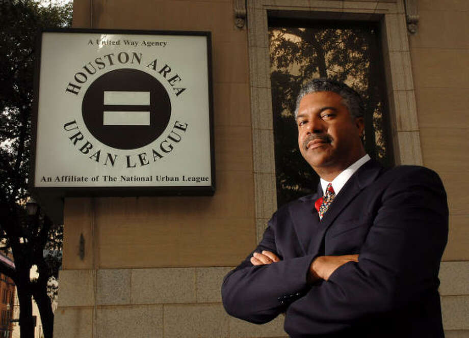 Judson Robinson III, a Houston City Council member from 1991-97, is the new president and chief executive officer of the Houston Area Urban League, 1301 Texas Ave. Photo: Dave Rossman, For The Chronicle