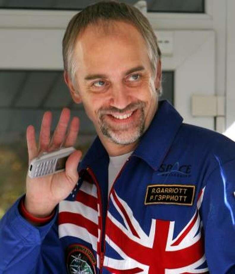 Richard Garriott will depart on the Soyuz Sunday. Photo: DMITRY LOVETSKY, ASSOCIATED PRESS