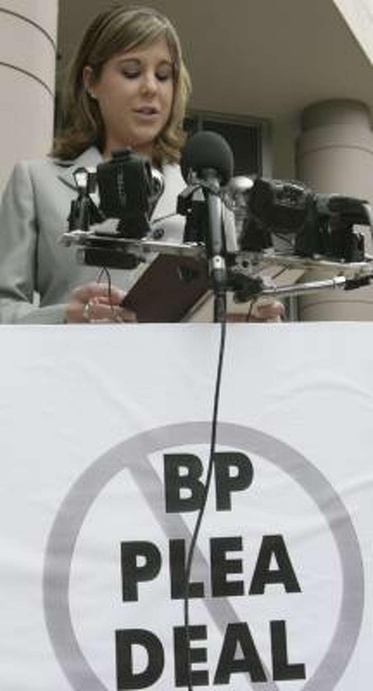 Eva Rowe's parents were killed in the BP Texas City refinery blast.